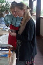 Egg tempera workshop